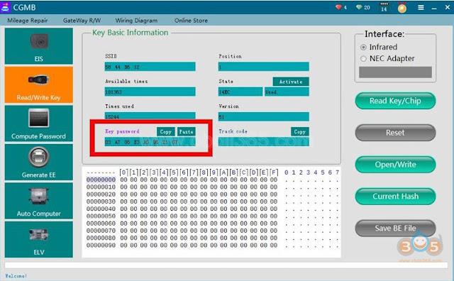 cgdi-mb-repair-w211-rolling-code-6