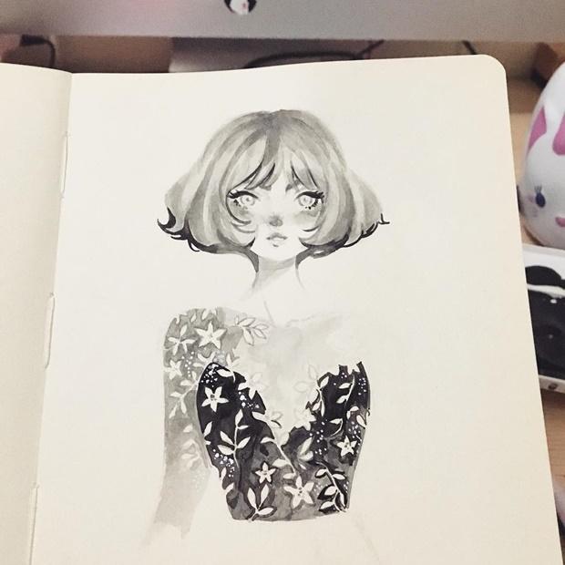 Ilustrações de Punziella