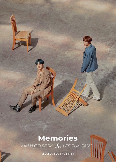 Kim Wooseok Lee Eunsang memories x1