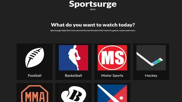 Sports-watching-website
