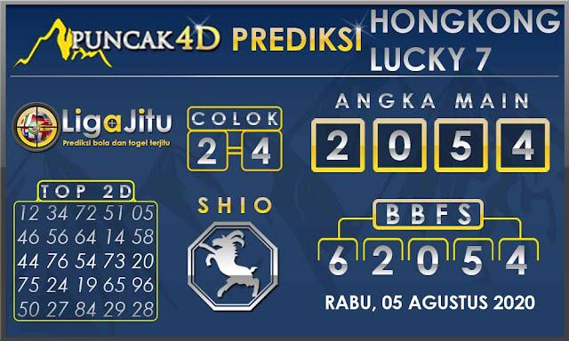 PREDIKSI TOGEL HONGKONG LUCKY7 PUNCAK4D 05 AGUSTUS 2020