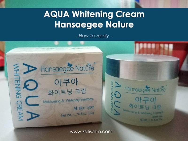 Pelembap Muka Terbaik Untuk Kulit - Aqua Whitening Cream