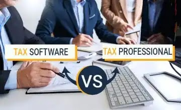 Tax Software vs Tax Professional: The Comparison