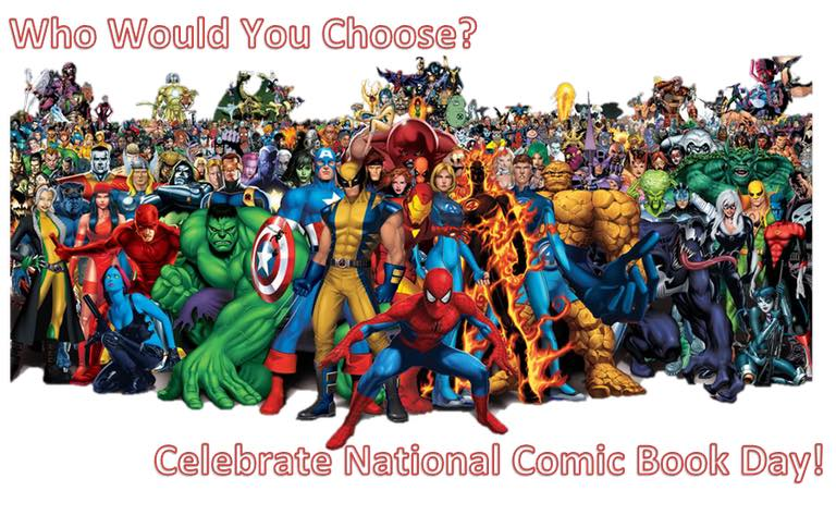National Comic Book Day Wishes Awesome Picture