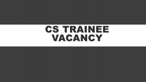 CS Training Vacancy Sept 2020