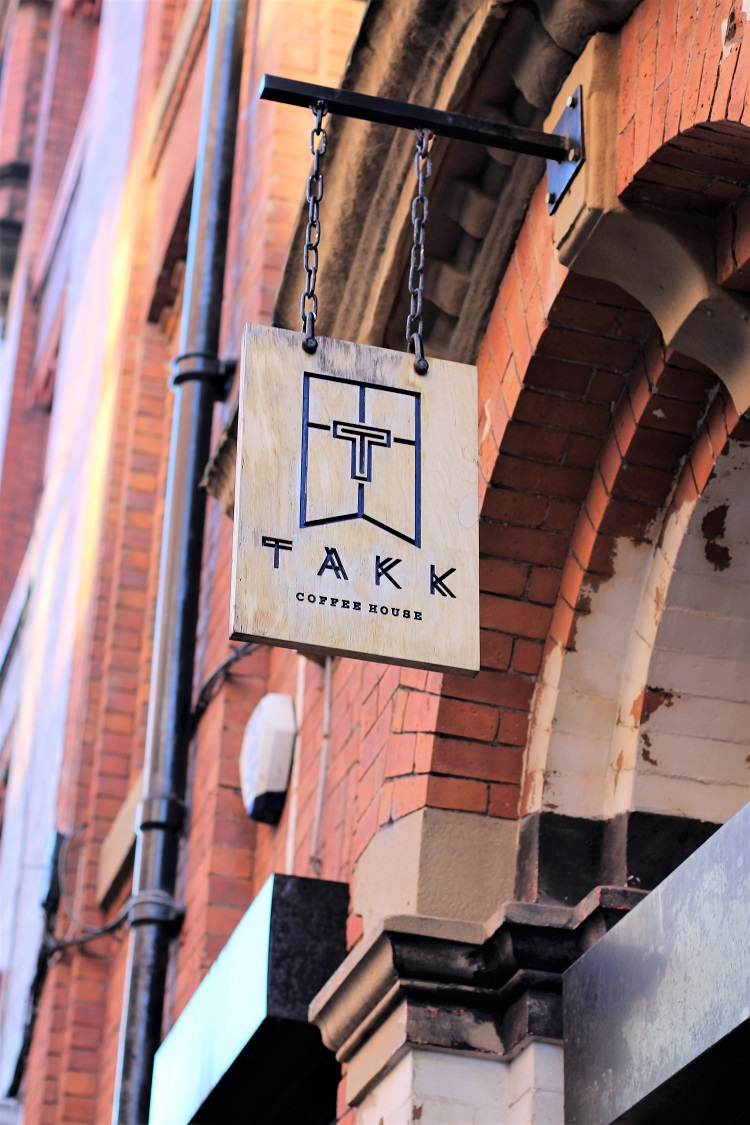 Takk coffee shop, Manchester - UK travel & lifestyle blog