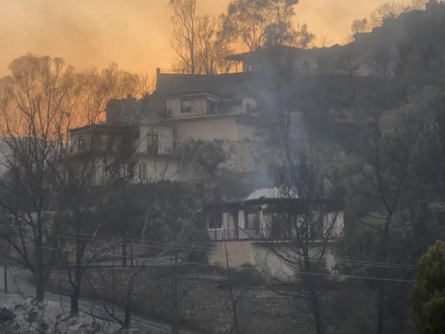 Σε κατάσταση έκτακτης ανάγκης κηρύχθηκαν οι 5 πυρόπληκτοι Δήμοι της Περιφέρειας Πελοποννήσου
