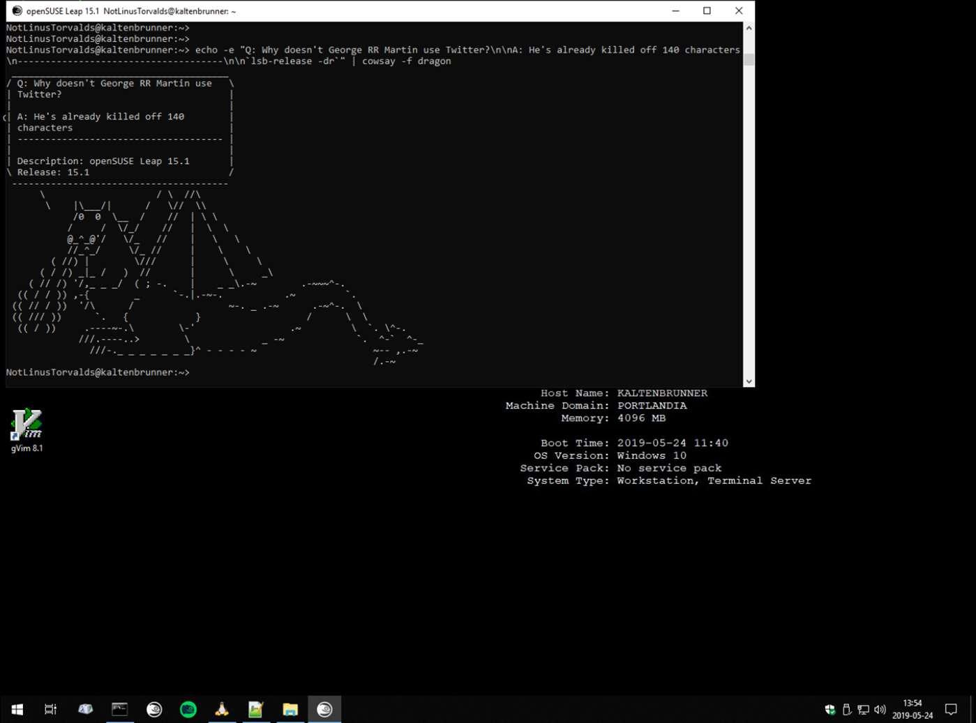 openSUSE-Leap-15-1 per Windows 10 | Download