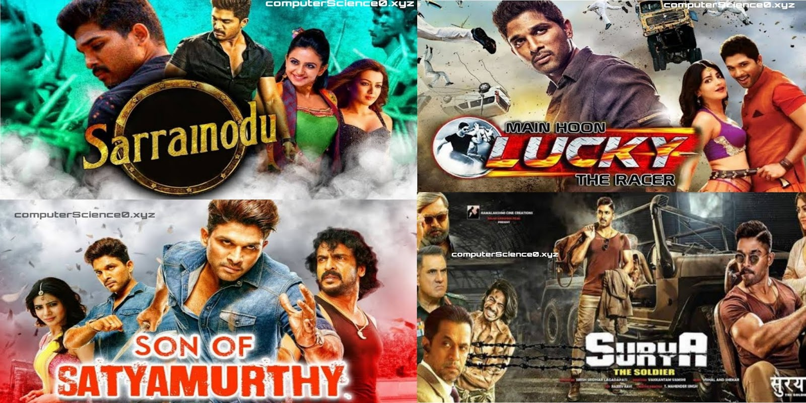 Watch Allu Arjun's Top 19 Movies of all time during this Lockdown and stay at home