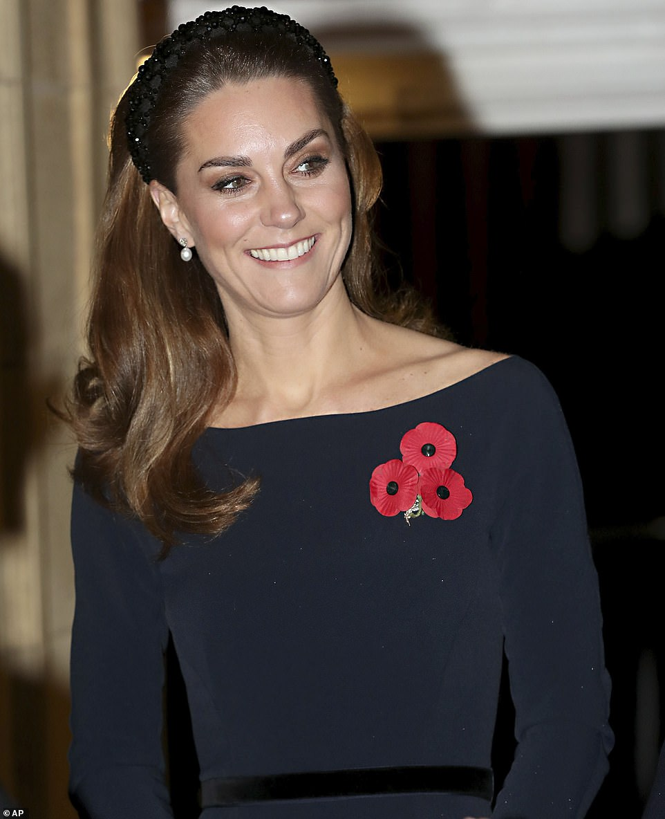 Prince William and Duchess Kate Attend the Annual Festival of Remembrance