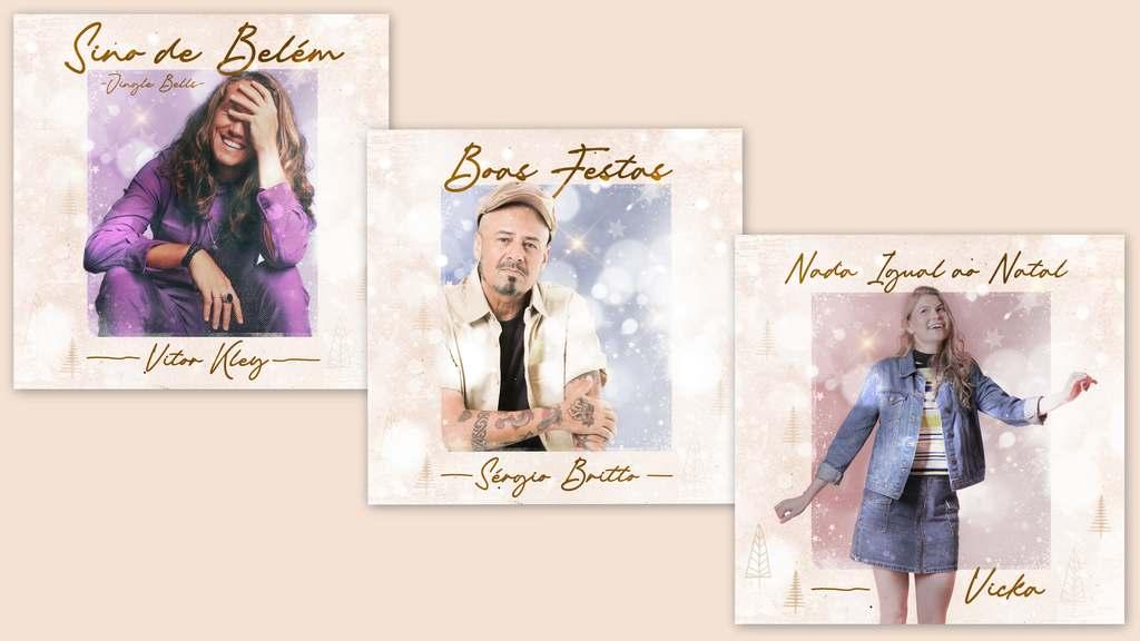 Artistas do Midas Music lançam canções natalinas