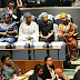 Aisha Buhari with her daughters Halima and Zarah at UN General Assembly