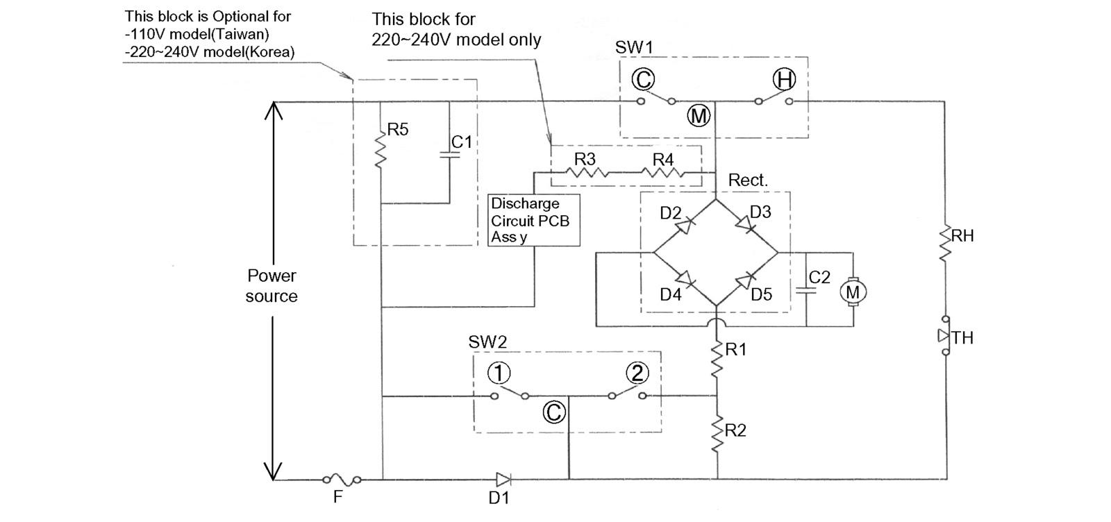 medium resolution of hair dryer circuit diagram wiring diagram pass hair dryer circuit diagram pdf hair dryer wiring diagram