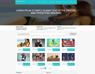 Catalogspot K2 E-Commerce - Template Blog Toko Online