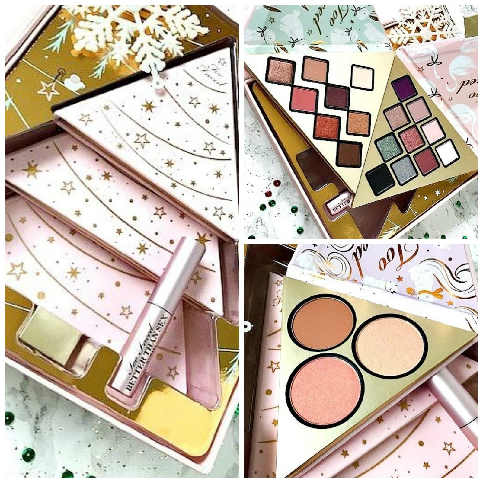 Too Faced Under the Christmas Tree Gift Set Review, Too Faced Under the Christmas Tree Gift Set Giveaway