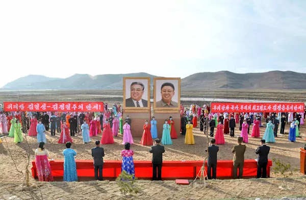 Ceremony of moving to new houses in Hamgyong Provinces, November 2020