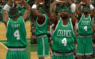 NBA 2K13 Boston Celtics HD Jersey Mod