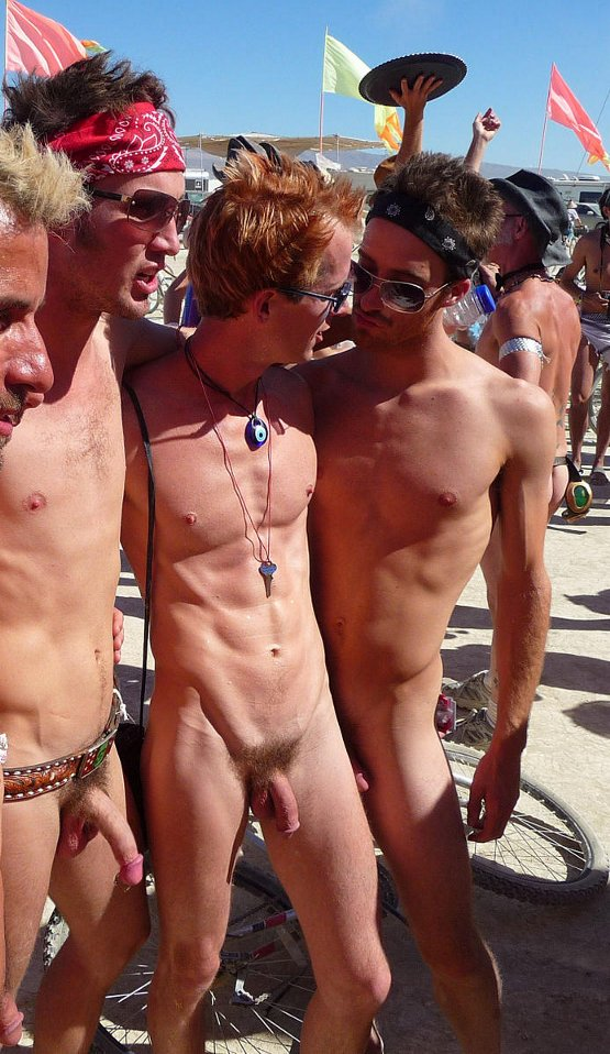 public nudity male