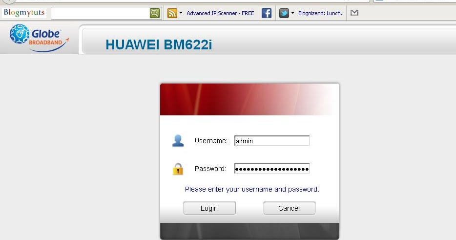 Huawei default password hg8245h