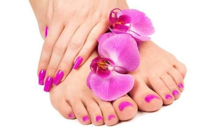 علاج رائحة القدمين   بالأعشاب