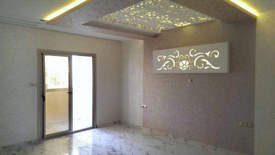 faux plafond chambre à coucher design ADM plus - Sigma décoration