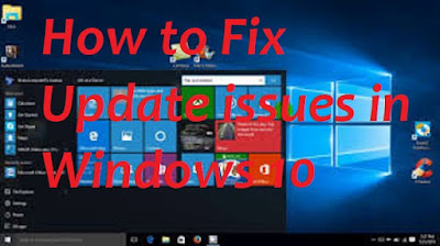 How to Fix Update issues in Windows 10