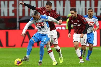 Video Napoli 2-2 AC Milan: Đại tiệc 4 bàn, penalty định đoạt