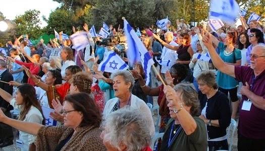 Cristianos se unen en oración por la paz de Jerusalén