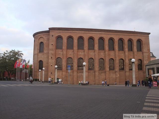 Roteiro pelo Rio Mosel (Alemanha) com vinícolas - Konstantin-Basilika/Kaisersaal/Aula Palatina em Trier