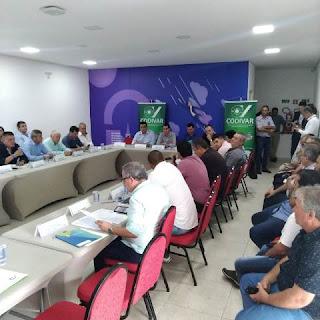 CODIVAR realiza primeira Assembleia de Prefeitos de 2020