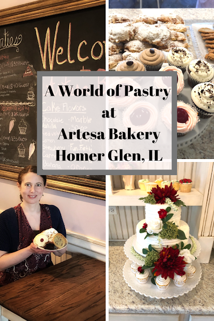 Experiencing and Tasting Pastry at Artesa Bakery in Homer Glen, Illinois