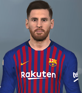 PES 2017 Faces Lionel Messi by Facemaker Huseyn
