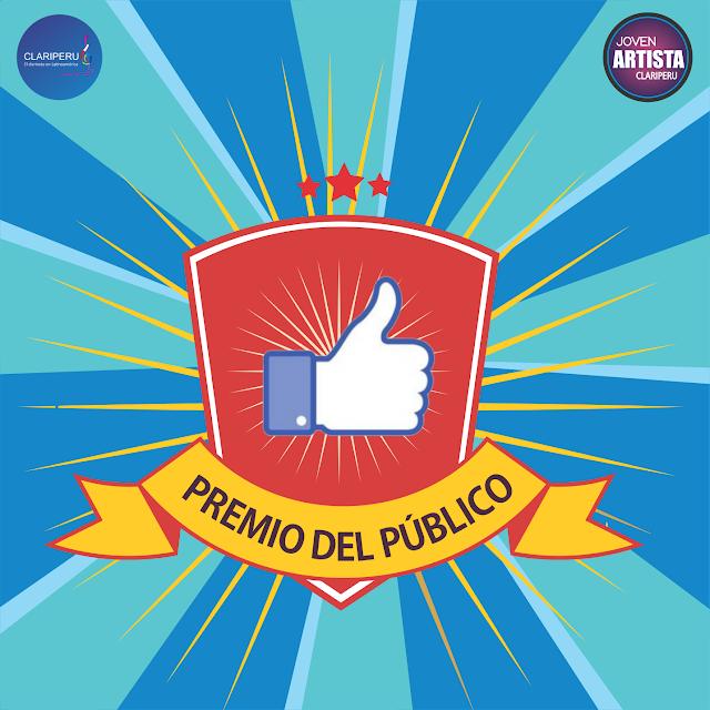 Premio del Público. Joven Artista Clariperu 2021 evento original de Clariperu