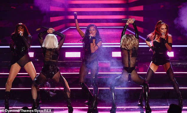 The Pussycat Dolls looked very sexy as they performed live together for the first time in ten years