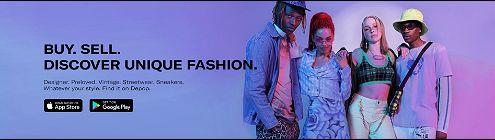 Depop, the fashion marketplace app