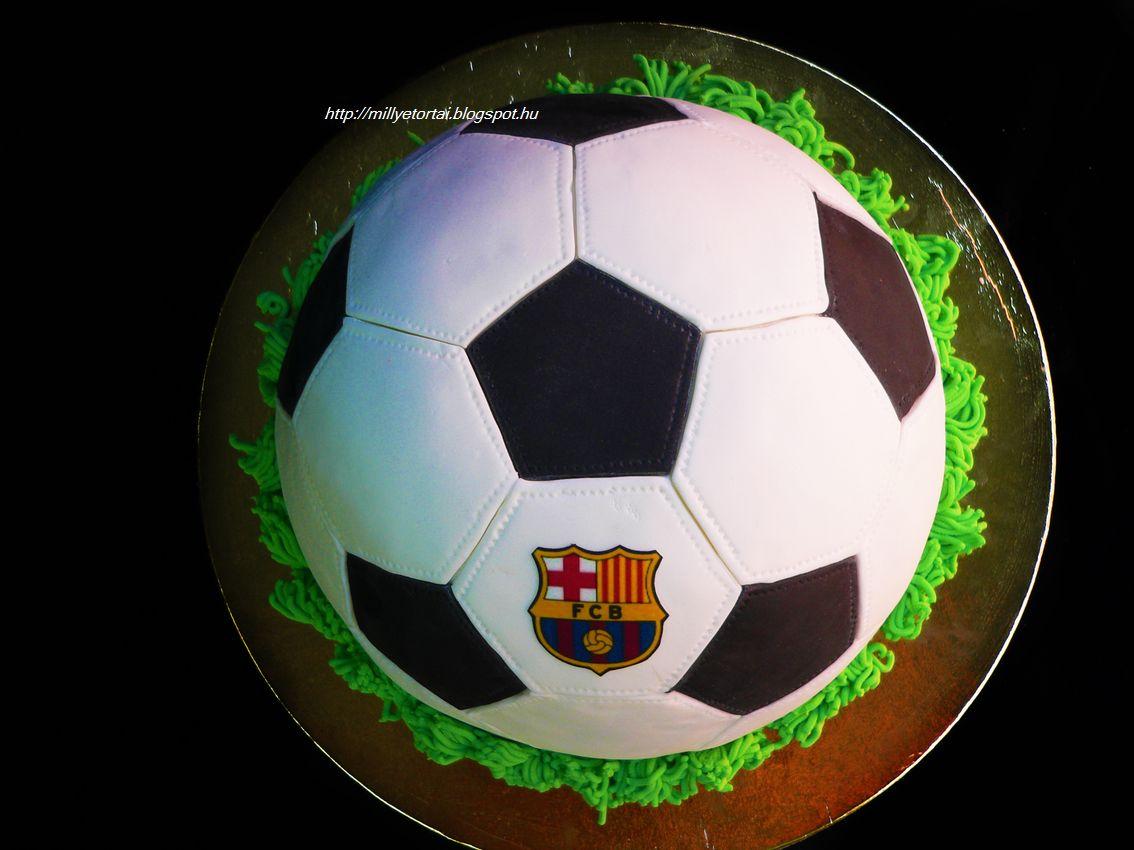 focilabda torta képek Millye finomságai: Focilabda torta FC Barcelona jellel focilabda torta képek