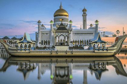 14 Fakta Unik Menarik Negara Brunei Darussalam