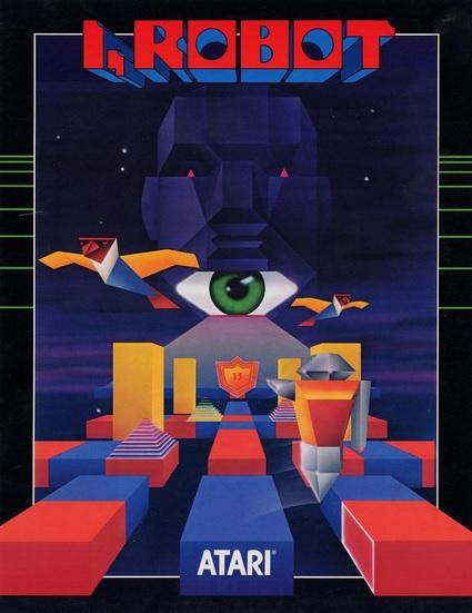 Flyer original Arcade I, Robot - Atari