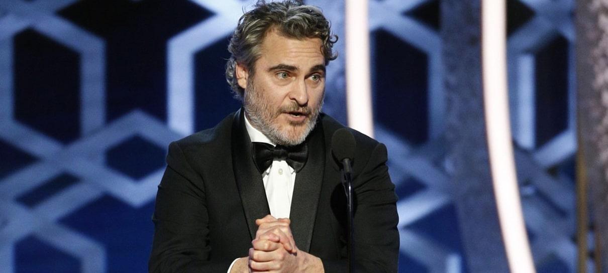 Joaquin Phoenix ganha Globo de Ouro como Melhor Ator por Coringa