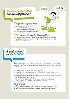Clod illustrations guide Réglez vos litiges locatifs à l'amiable pour le Ministère du Logement