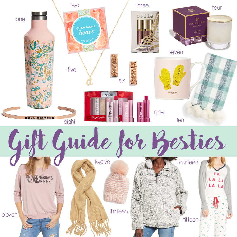 gift guide for your best friend