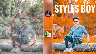 Stylish Boy Snapseed App Photo Editing Tutorial    Download Preeset 2021