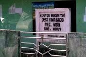 Coret Layak Terima Bantuan, Ketua dan Bendahara BPD Desa Kima Bajo Borong PKH, BPNT, BST?