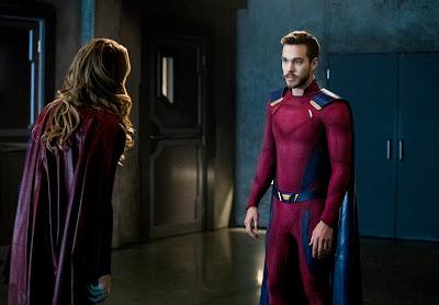 CW Supergirl 3x15 In Search of Lost Time Kara Danvers Mon-El