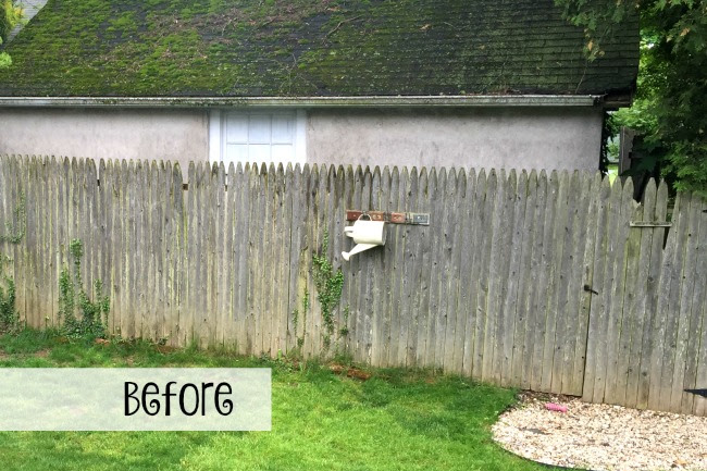 Replacing the Fence with Vinyl