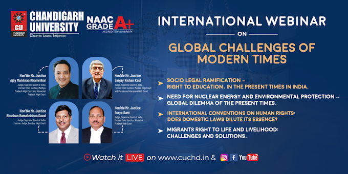 International Law webinar on Global Challenges of Modern Times