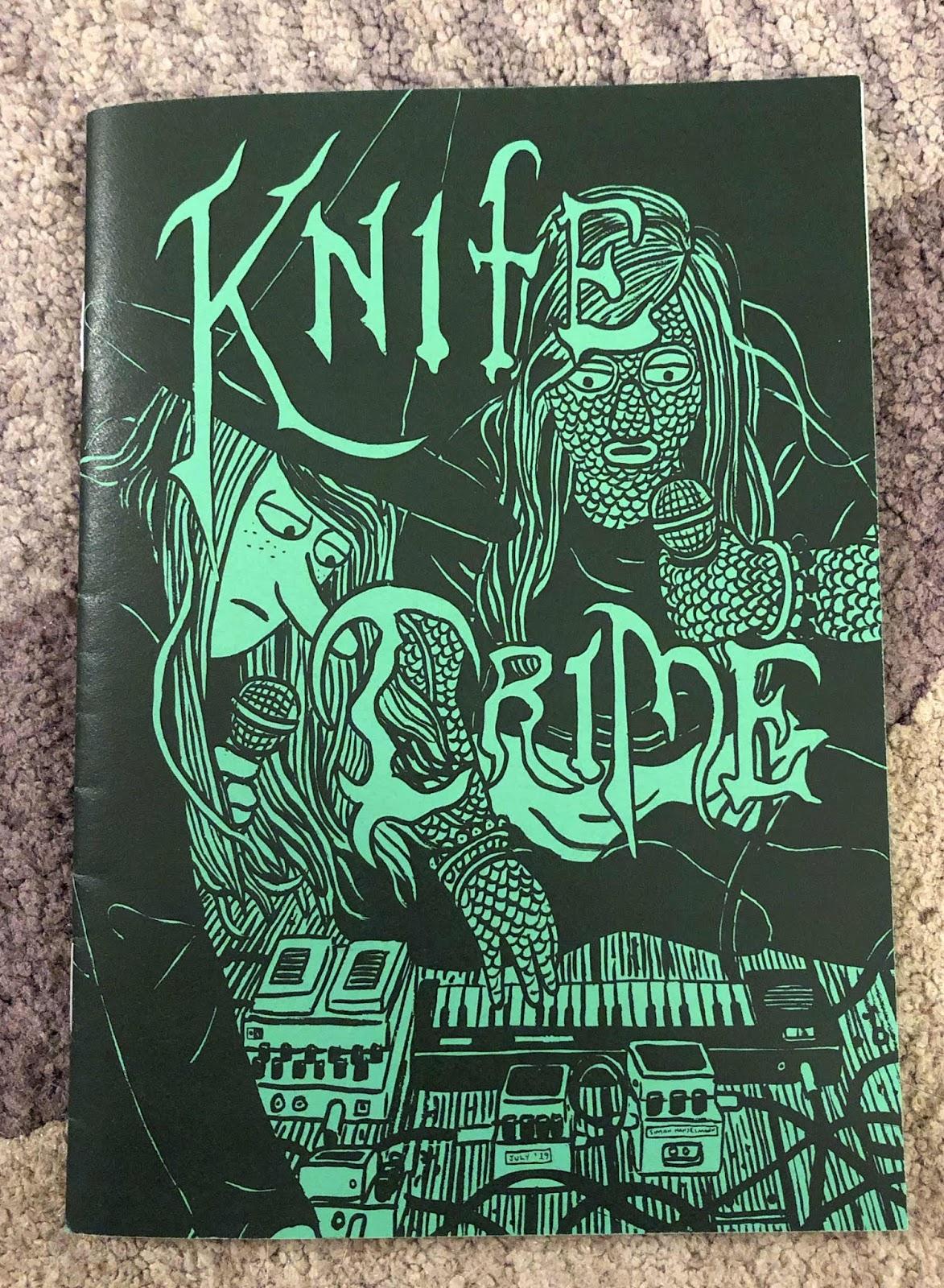 The Newest Rant Knife Crime By Simon Hanselmann Is