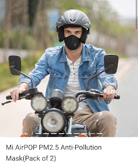 xiaomi air pollution mask