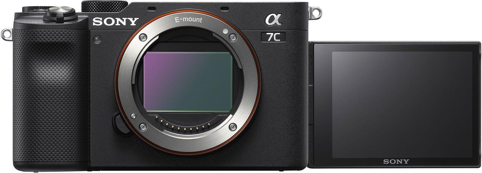 Sony A7C с поворотным экраном