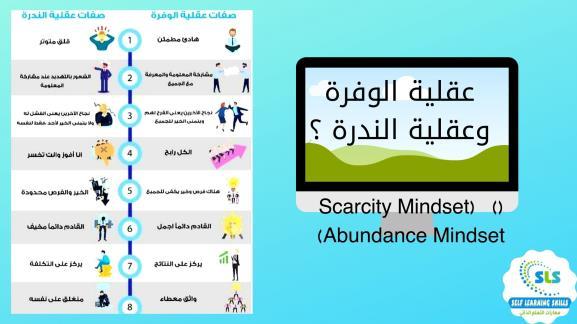 (Scarcity Mindset) وعقلية الوفرة ( Abundance Mindset)